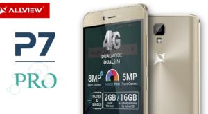 Allview P7 Pro: noul telefon al brașovenilor a fost lansat