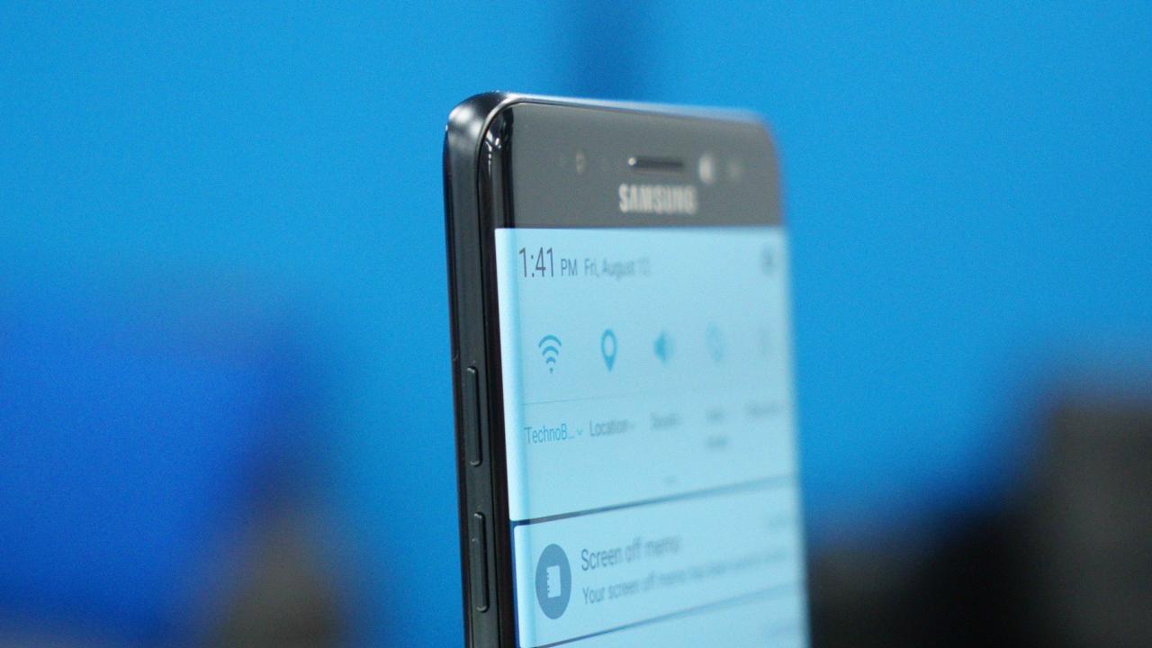 """Un Samsung Galaxy Note 7 """"fără defecțiuni"""" a explodat"""