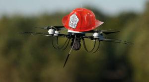 Dronele-pompier vor ajuta la stingerea incendiilor din cartier