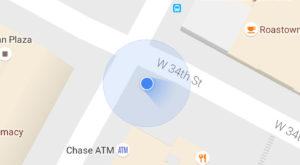 Google Maps îți arată de acum când busola telefonului are probleme