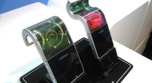 Cum va funcționa ecranul flexibil plănuit de Samsung