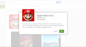 Super Mario Run pe Android: înregistrează-te acum, ca să fii anunțat când poți descărca jocul