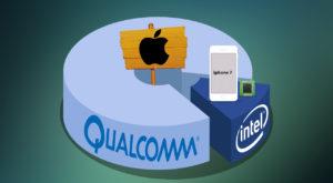 Apple dă în judecată Qualcomm pentru un miliard de dolari