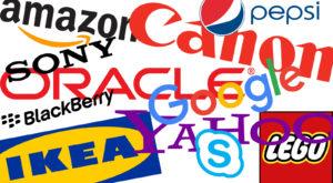 Cum și-au ales numele unele dintre cele mai celebre companii din lume