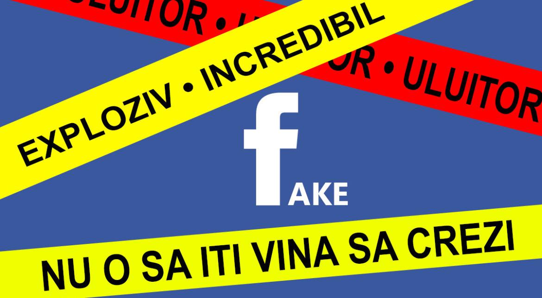 Cum poți raporta știrile false românești de pe Facebook