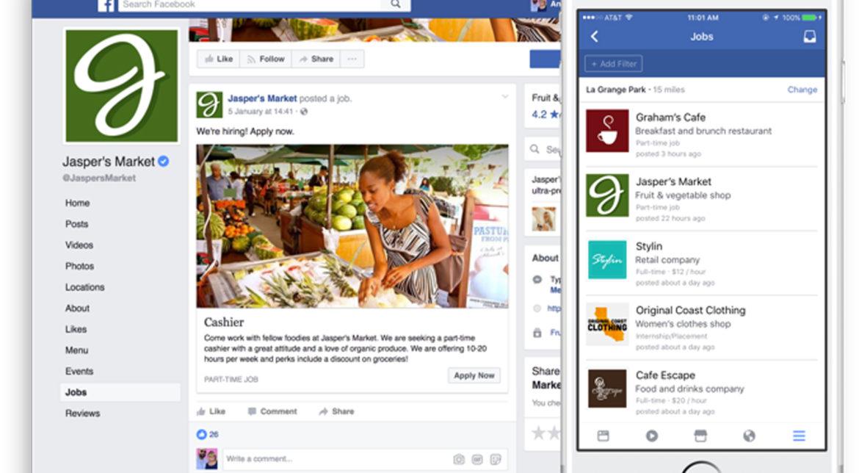 Facebook atacă LinkedIn cu postări de locuri de muncă
