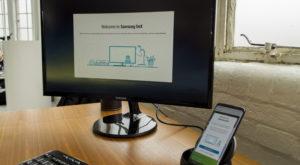 Samsung Galaxy S8: Dock-ul DeX îți transformă telefonul în PC
