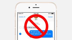 Cum blochezi mesajele de la un număr pe iPhone pe termen nelimitat