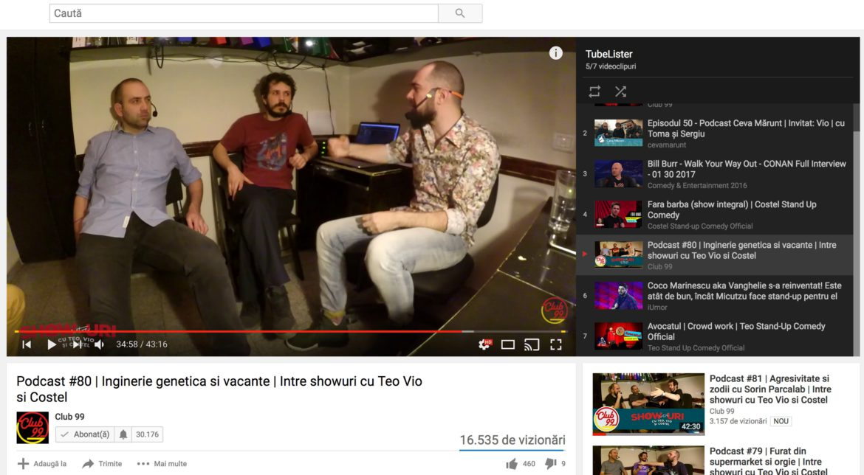 Cum creezi rapid un playlist pe YouTube în Chrome