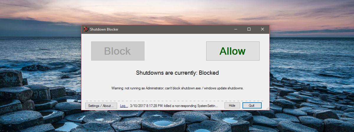 block-system-shut-down