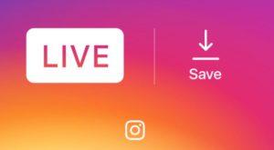 Sesiunile de Instagram Live pot fi salvate pe telefon