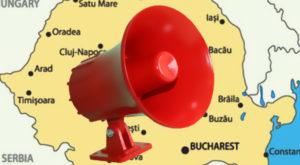 Toate sirenele de alarmare din România sunt pornite săptămâna aceasta