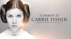 Carrie Fisher: Prințesa Leia a fost comemorată la 40 de ani de Star Wars