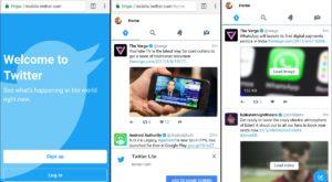 Twitter Lite este progrămelul perfect dacă nu ai o conexiune rapidă la internet