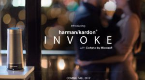 Asistența virtuală pe boxe: Cortana intră pe Harman Kardon Invoke