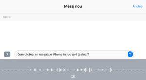 Cum dictezi mesaje pe iPhone dacă nu mai vrei să le tastezi [VIDEO]