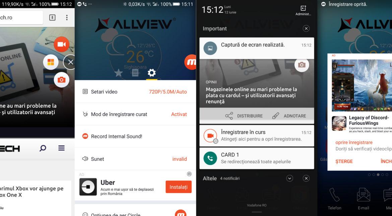 Cum înregistrezi activitatea de pe Android într-un clip video