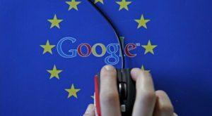 Google, amendată cu o sumă record de Uniunea Europeană