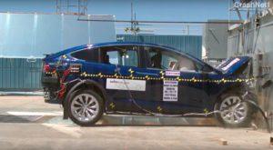 Tesla Model X este cea mai sigură mașină de tip SUV din toate timpurile