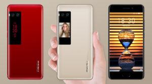 Meizu Pro 7 este un telefon cu două ecrane mai mult decât promițător
