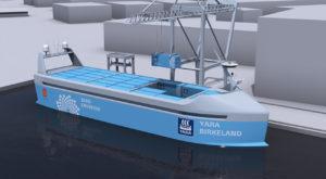 Norvegienii lucrează la prima navă de marfă autonomă