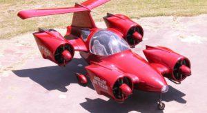 Prima mașină zburătoare din lume este de vânzare pentru o sumă uriașă
