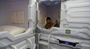 Cum arată capsulele în care poți să tragi un pui de somn în mijlocul zilei