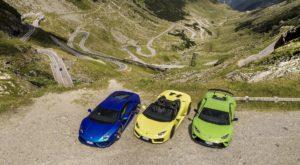 Noua reclamă Lamborghini îți reamintește cât de frumos e pe Transfăgărășan