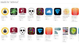 Apple a șters antivirușii din App Store, pentru că nu făceau nimic