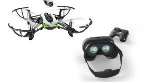Parrot te ajută să simți cum e să zbori cu o cască și o dronă