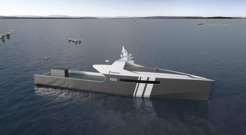 Rolls-Royce lucrează la o navă autonomă pentru patrulare și detectarea de mine