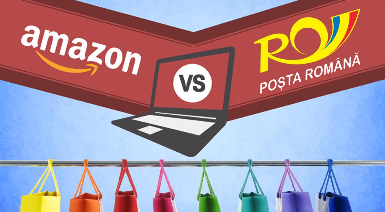 Amazon versus Poșta Română: cineva trebuie să dispară