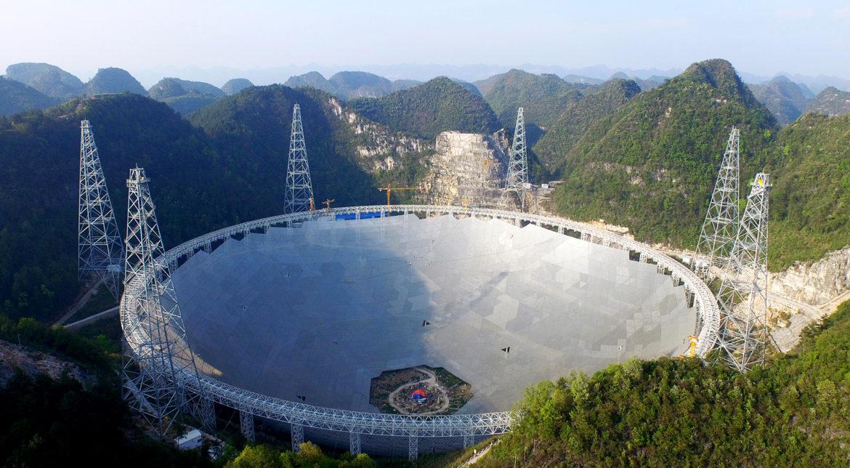 Cel mai mare radiotelescop din lume a avut parte de prima sa descoperire