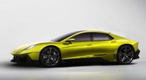 Lamborghini lucrează la un bolid de lux cu patru uși