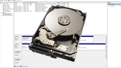 Cum partitionezi un hard disk in Windows
