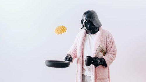 Pozele care ți-l arată pe Darth Vader cum duce o viață banală