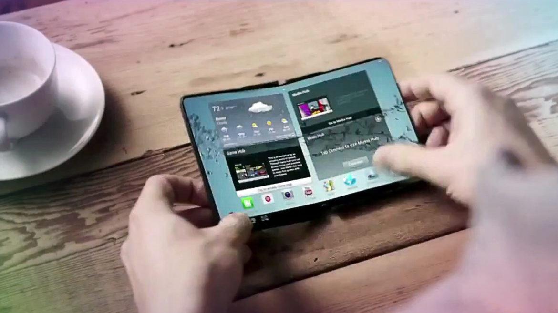 Samsung se pregătește să lanseze un telefon pliabil în 2018