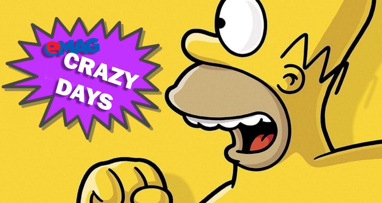 eMAG Crazy Days: Oferte la toate produsele
