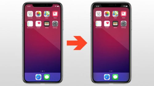 Aplicația care îți transformă ecranul de pe iPhone X