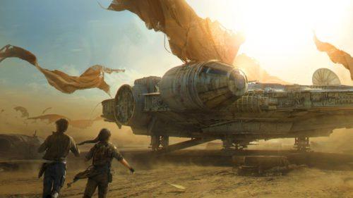Cea mai cunoscută navă din Star Wars a fost găsită pe Google Maps
