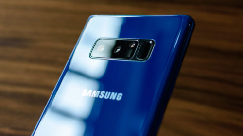 Samsung Galaxy Note 8 e mai bun pe video la un capitol important
