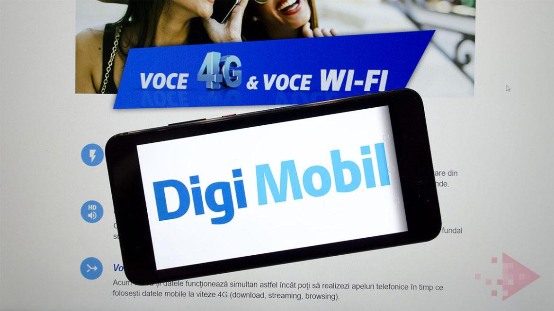 Digi Mobil și Huawei anunță primele telefoane compatibile VoLTE și VoWiFi