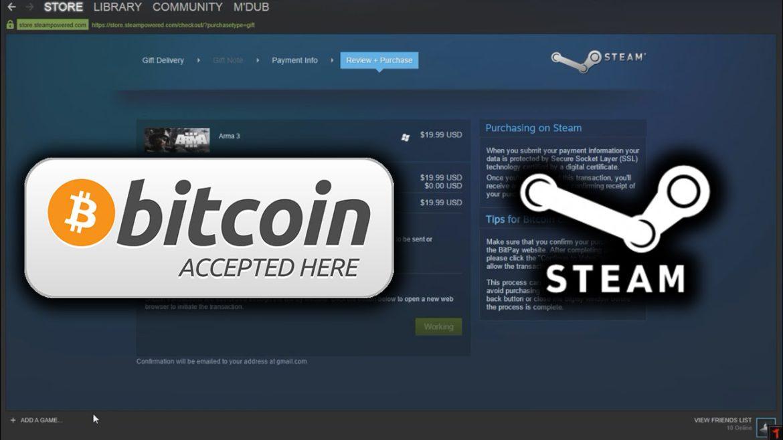 Eliminarea Bitcoin de pe Steam poate fi un precedent istoric