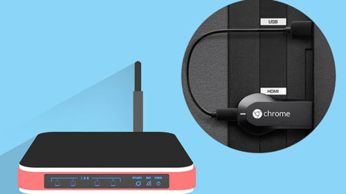 Chromecast-and-WiFi-router-shutterstock