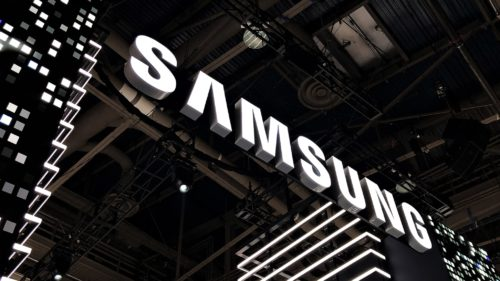 Samsung telefon pliabil CES 2018