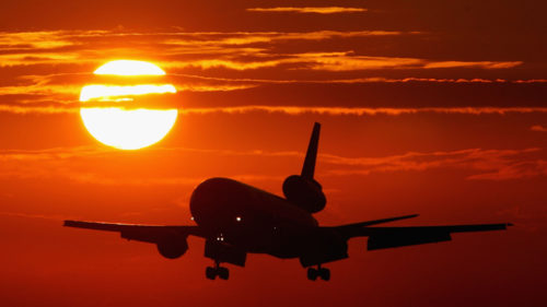 Toate zborurile care au decolat în 2018 și au aterizat în 2017