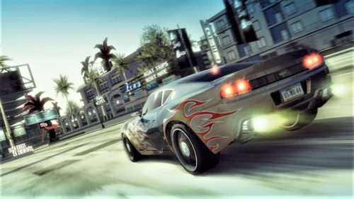Burnout Paradise remastered Sony PlayStation 4 Xbox One