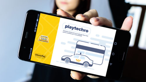 Clever Taxi plata card