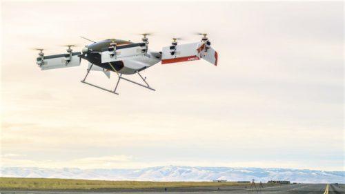 Airbus a testat primul vehicul zburător care se conduce singur