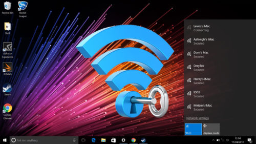 Cum afli parola la o rețea wireless pe Windows 10